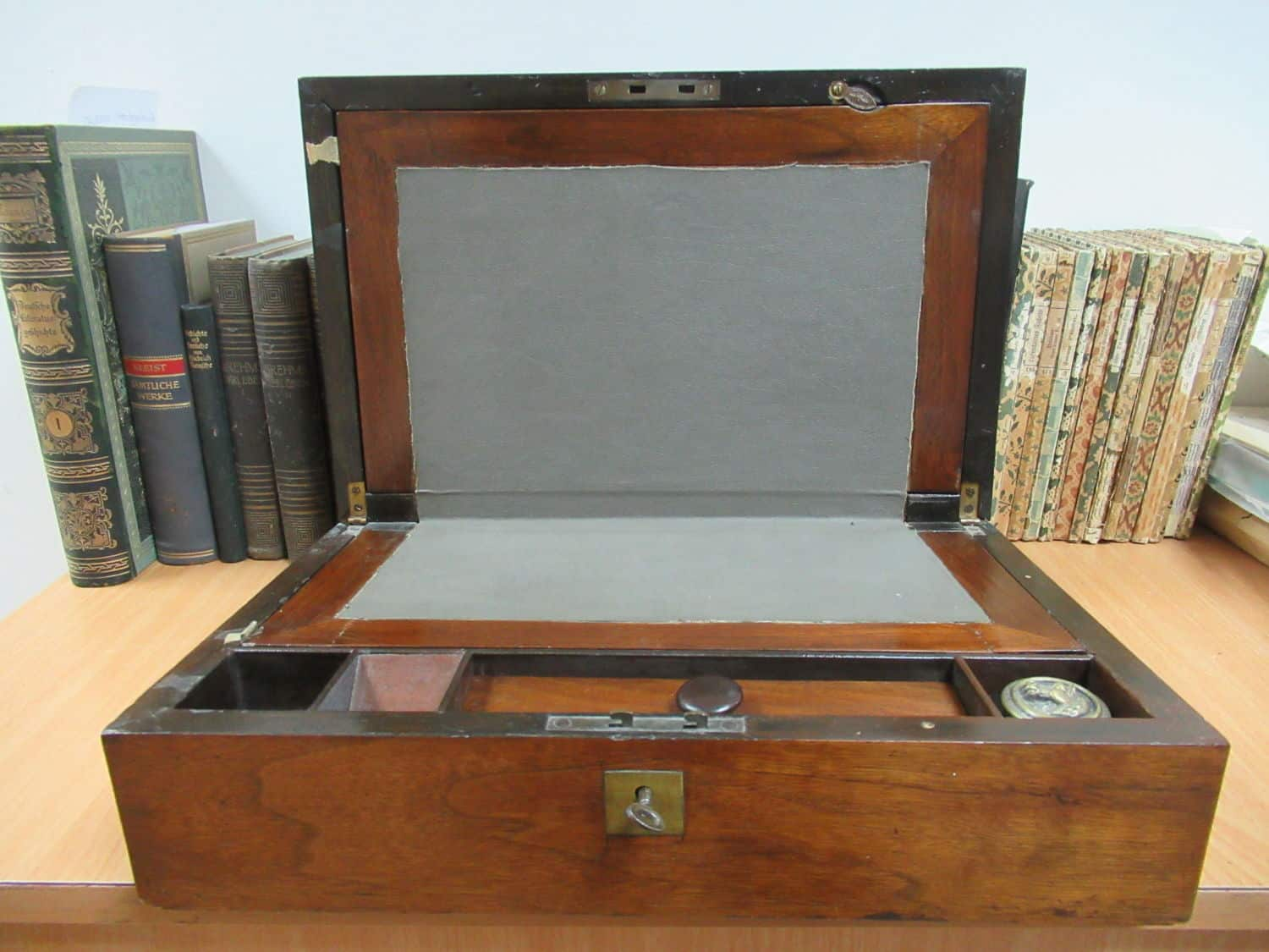 Antique writing box from England.