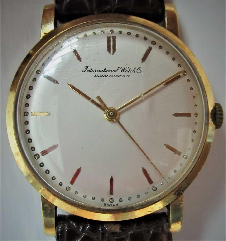 שעון שפהואזן 402 IWC CAL נדיר לגבר, שנות ה-60 של המאה הקודמת!